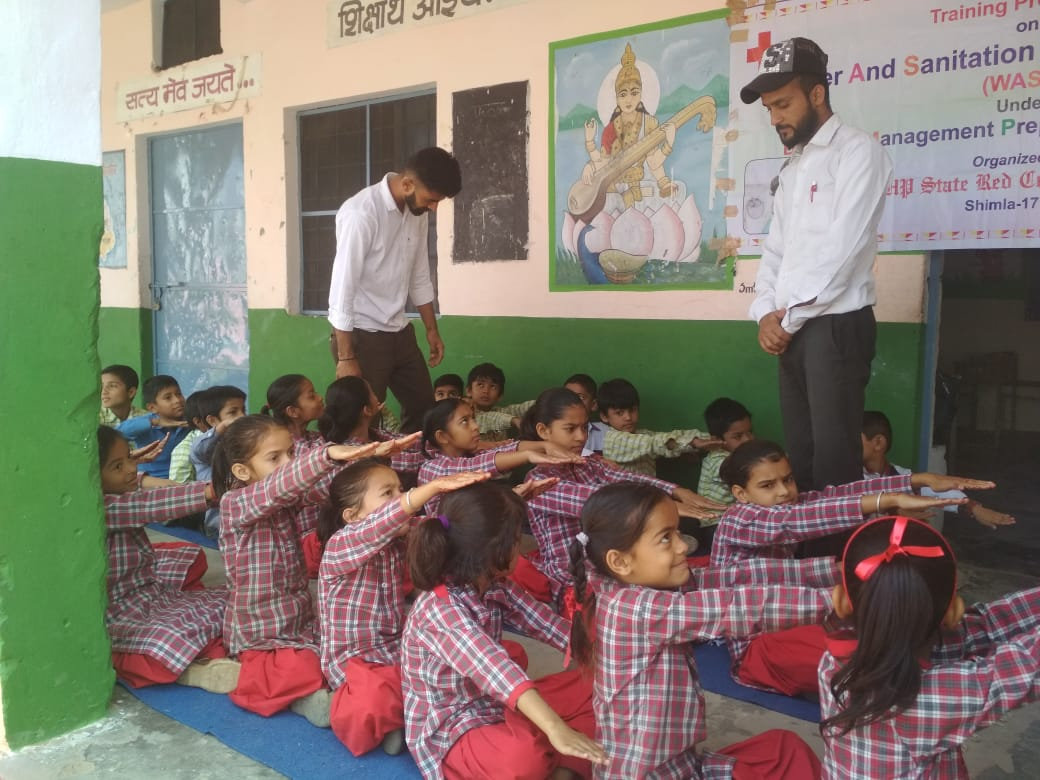 WASH Mock Drill in Schools- Himachal Pradesh, Shimla-19 Oct, 2019