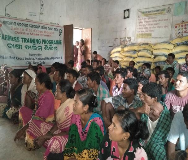 Distribution of Seeds in Odisha by IRCs in Khariff season 2019